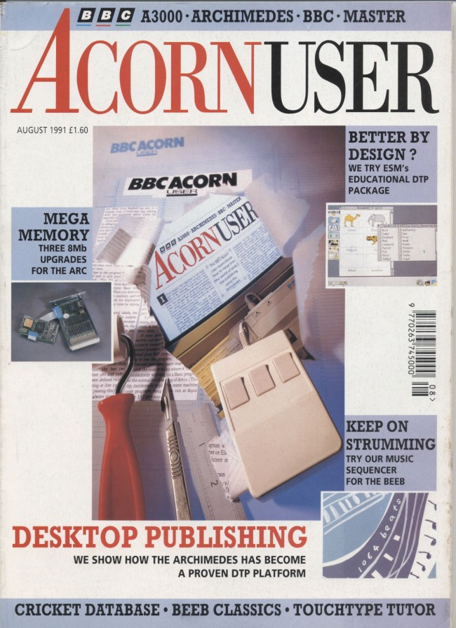 Scan of Document: Acorn User - August 1991