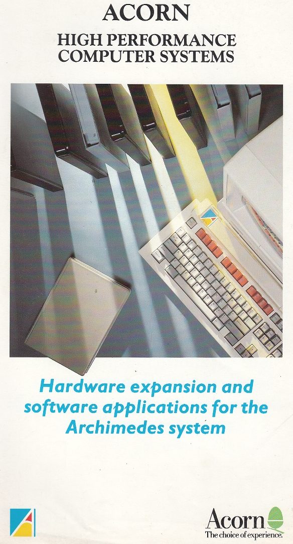Scan of Document: Acorn - Hardware expansion and software applications for the Archimedes system