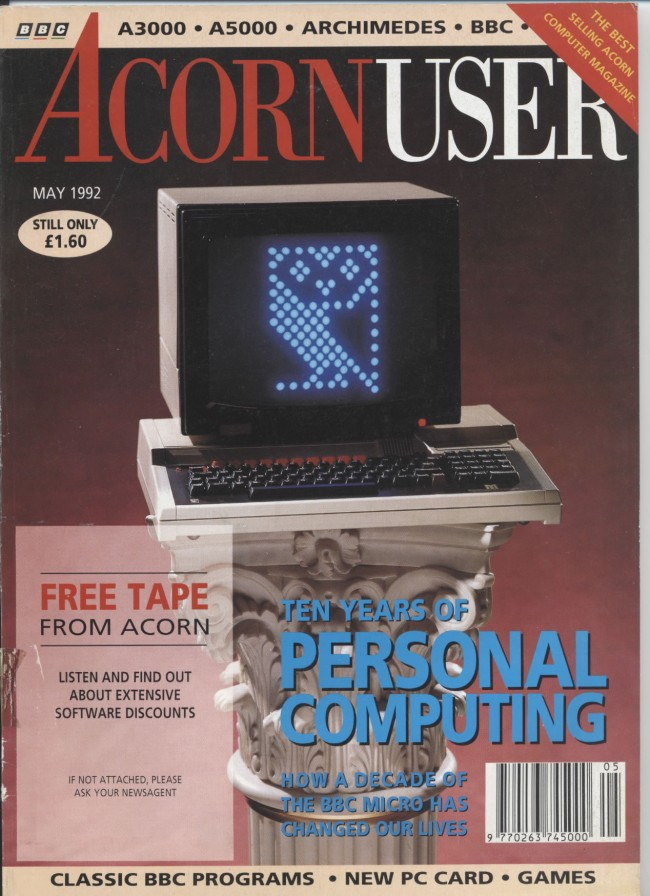 Scan of Document: Acorn User - May 1992
