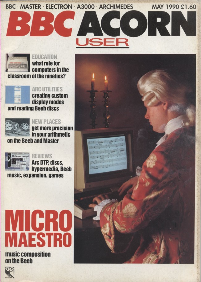 Scan of Document: Acorn User - May 1990