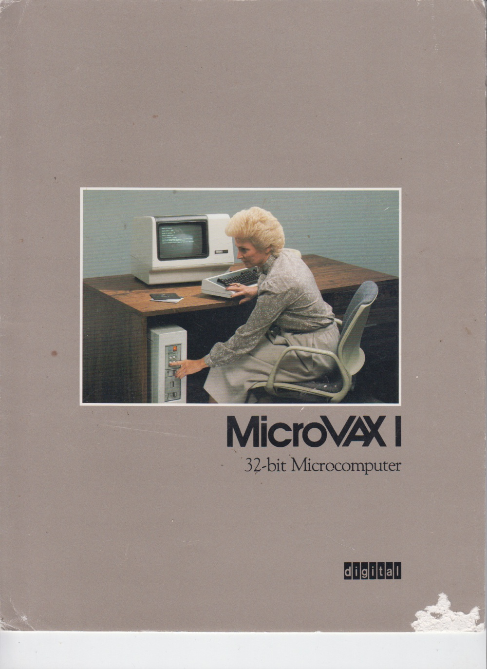 Scan of Document: MicroVAX 1 - 32-Bit Microcomputer