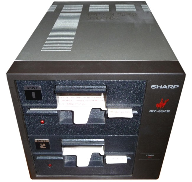 Scan of Document: Sharp MZ-80FD Dual Disk Drive Unit