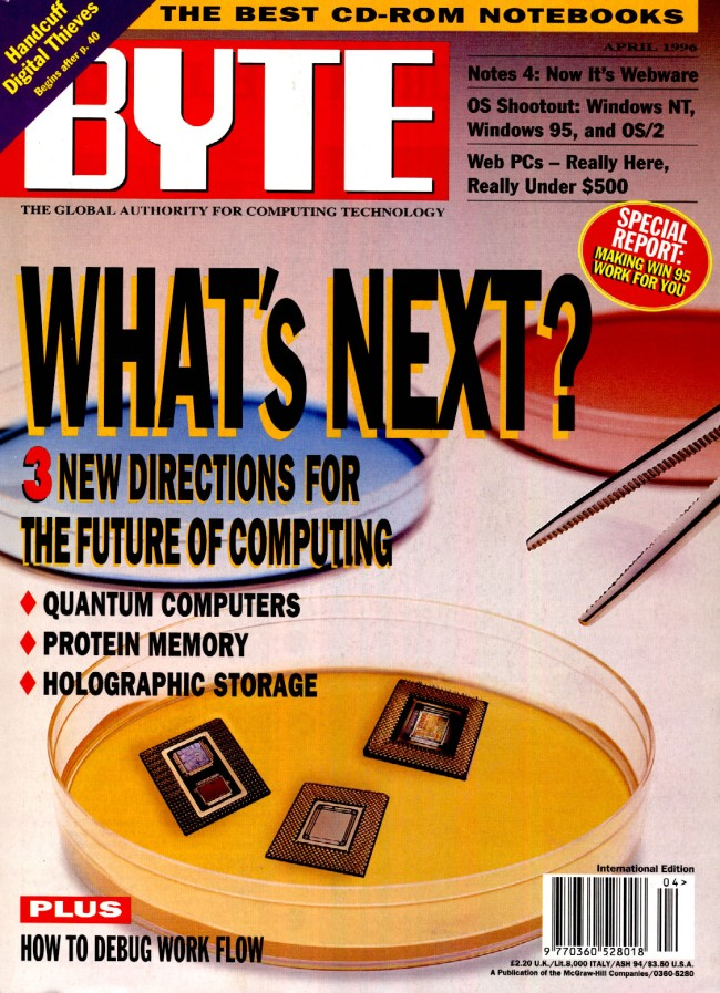 Scan of Document: Byte April 1996