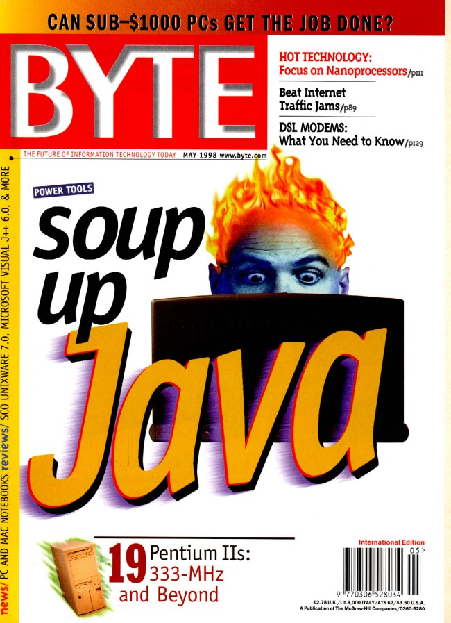 Scan of Document: Byte May 1998