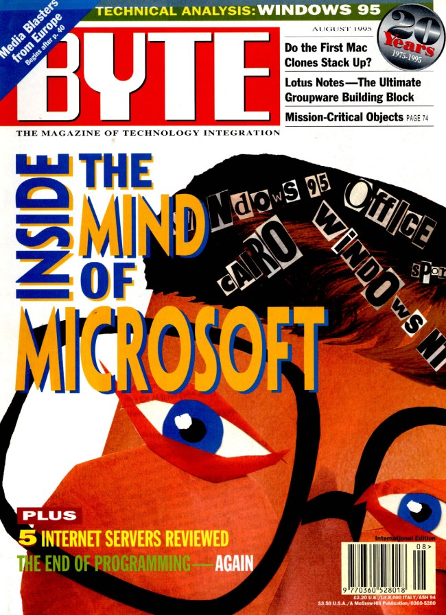 Scan of Document: Byte August 1995