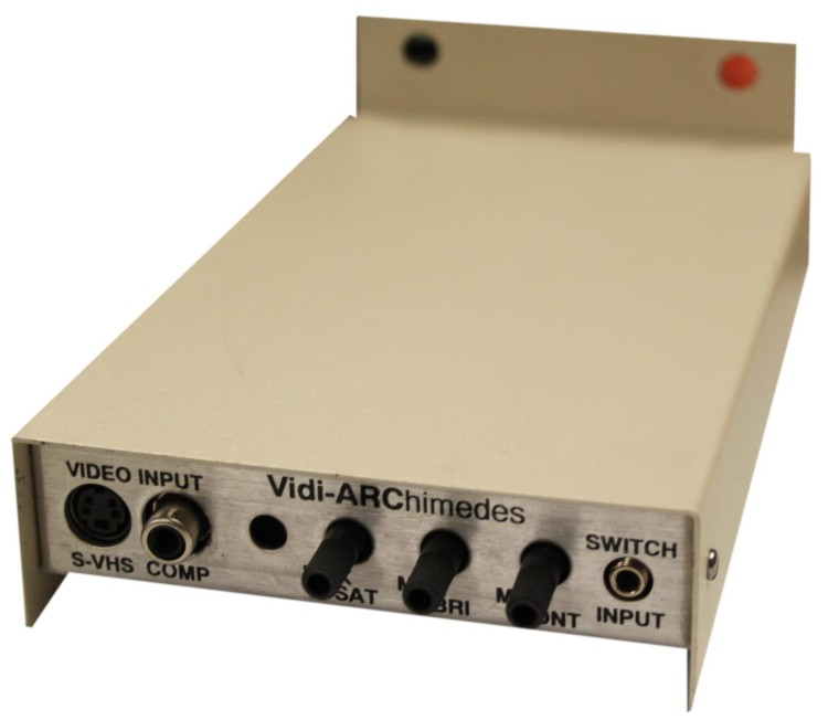 Scan of Document: Vidi-Archimedes Video Image Capture Card