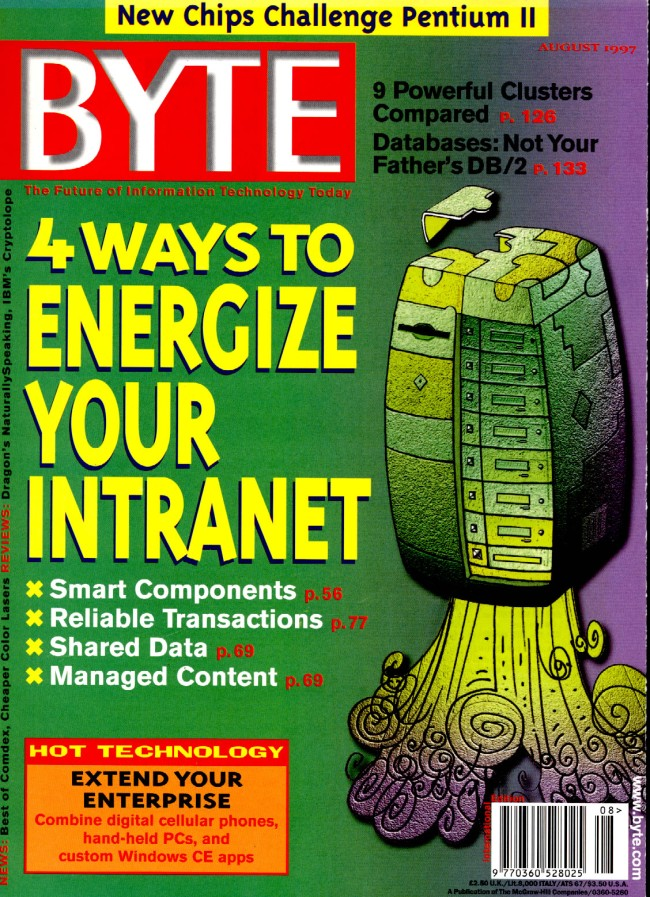 Scan of Document: Byte August 1997