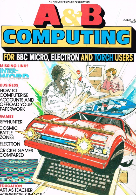 Scan of Document: A & B Computing - August 1986