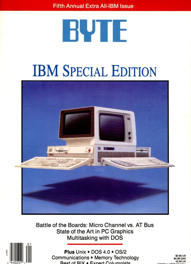 Scan of Document: Special Edition Byte February 1989