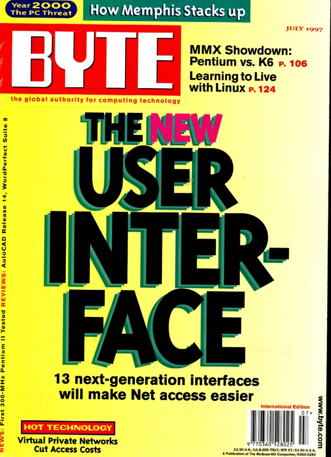 Scan of Document: Byte July 1997