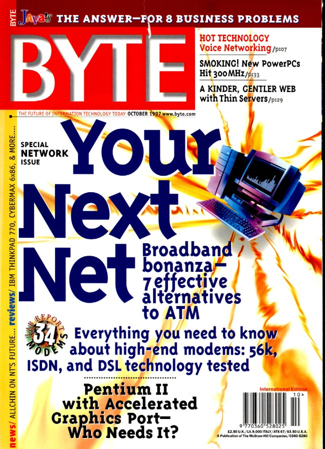 Scan of Document: Byte October 1997