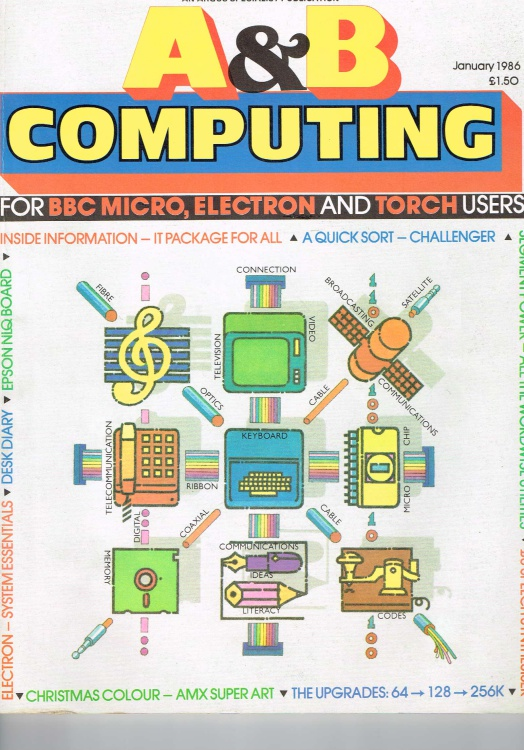 Scan of Document: A & B Computing - January 1986