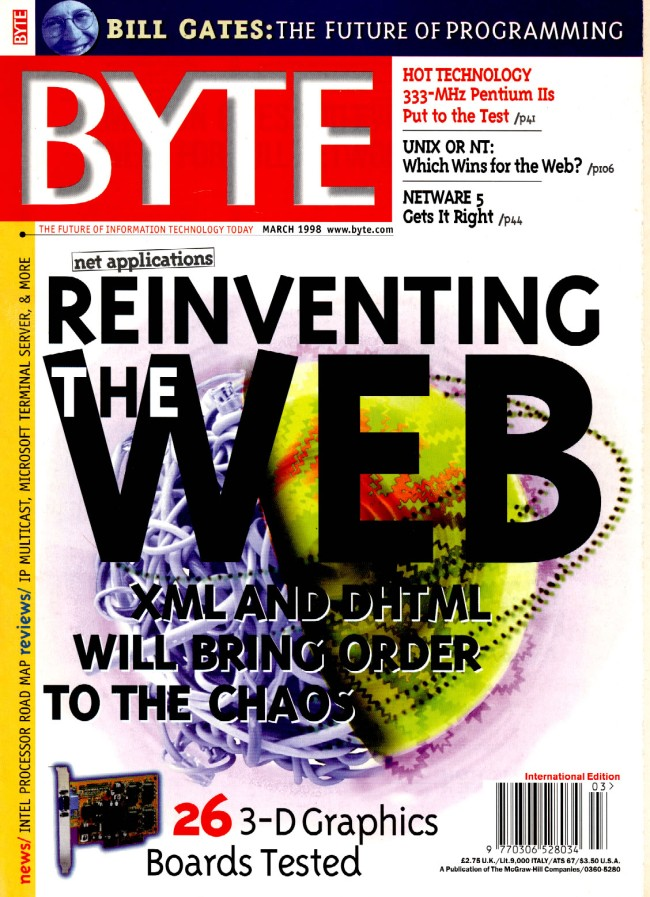 Scan of Document: Byte March 1998