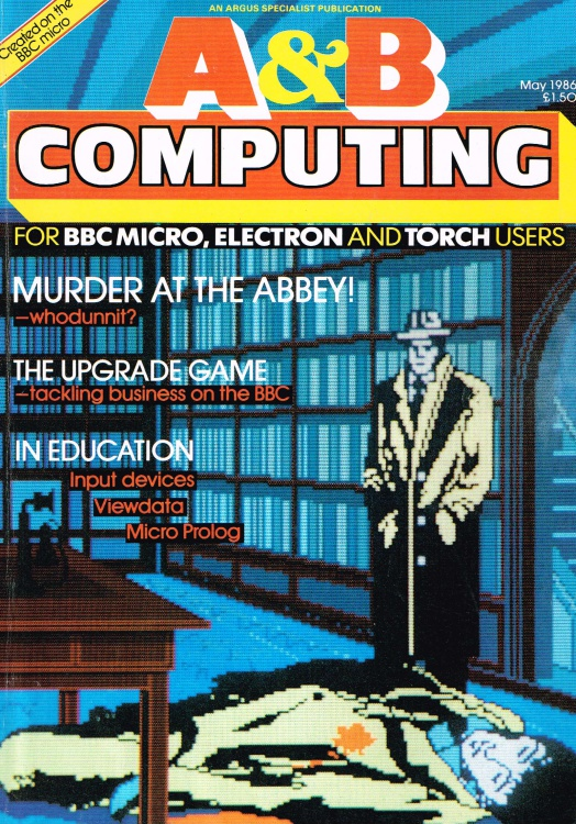 Scan of Document: A & B Computing - May 1986