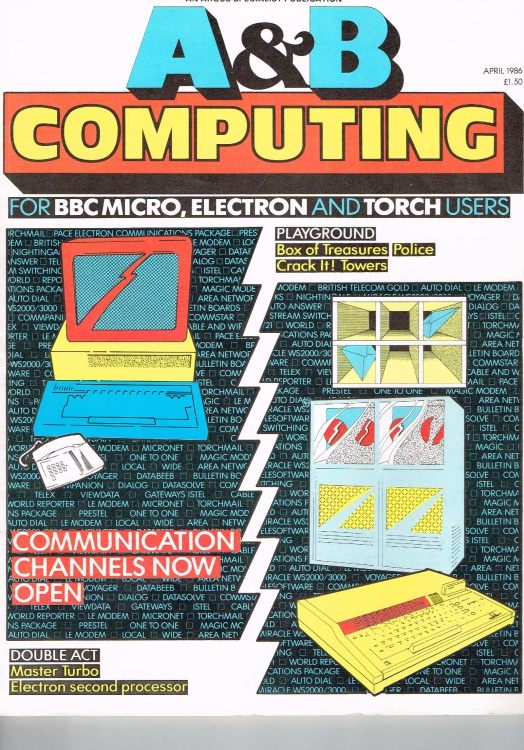 Scan of Document: A & B Computing - April 1986