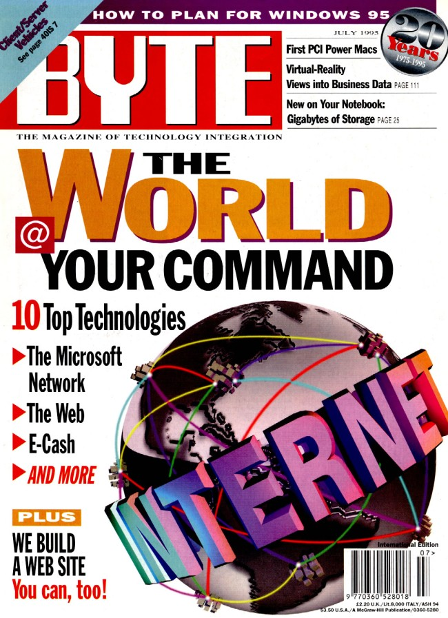 Scan of Document: Byte July 1995