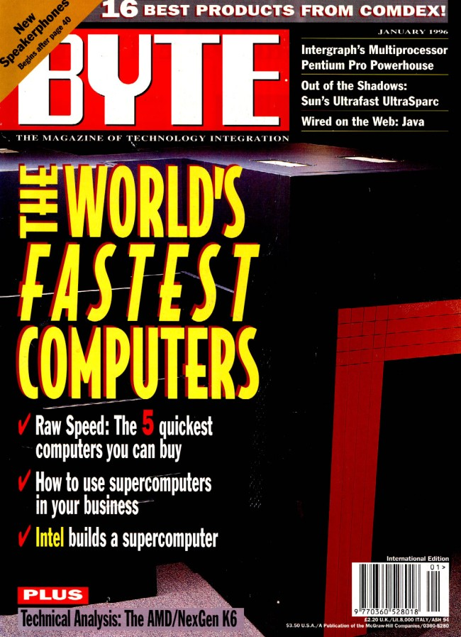 Scan of Document: Byte January 1996