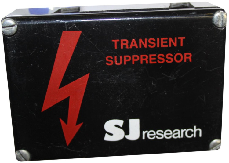 Scan of Document: SJ Research Transient Suppressor