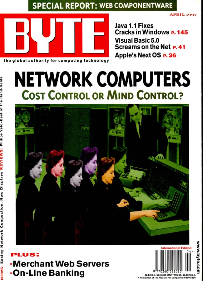 Scan of Document: Byte April 1997
