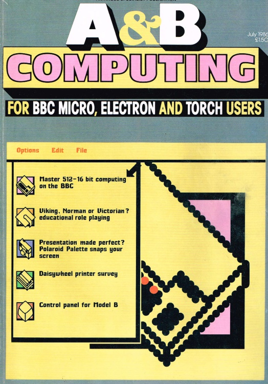 Scan of Document: A & B Computing - July 1986