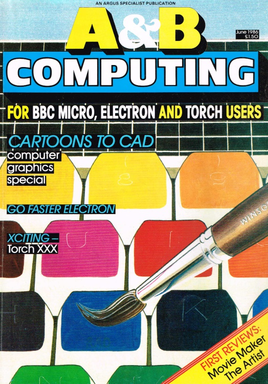 Scan of Document: A & B Computing - June 1986