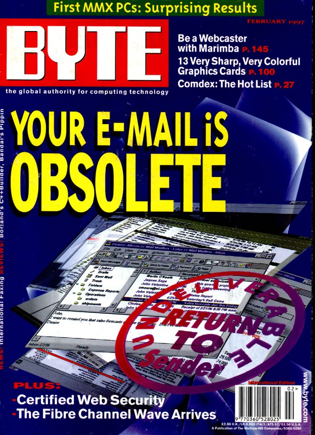 Scan of Document: Byte February 1997