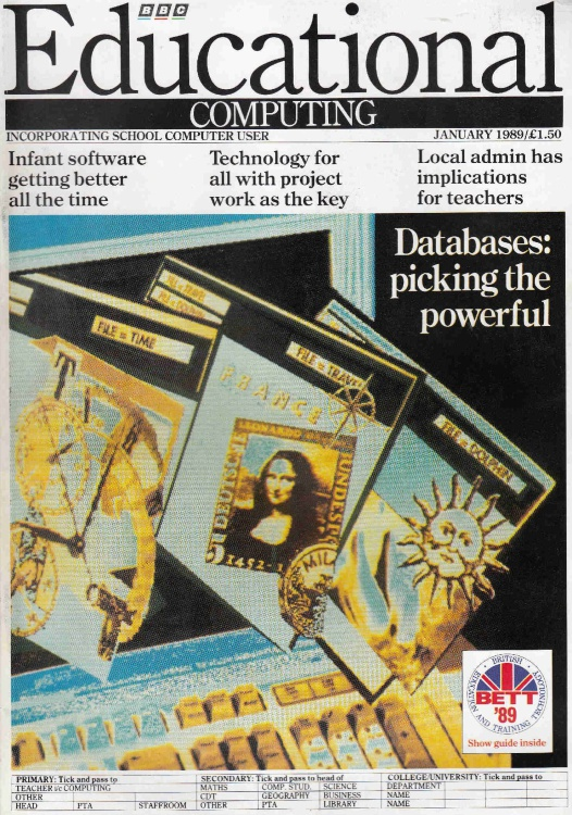 Scan of Document: Educational Computing - January 1989