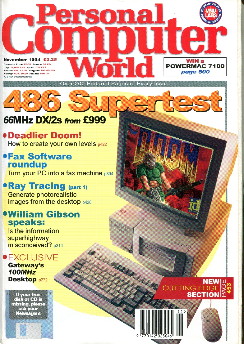 Scan of Document: Personal Computer World - November 1994