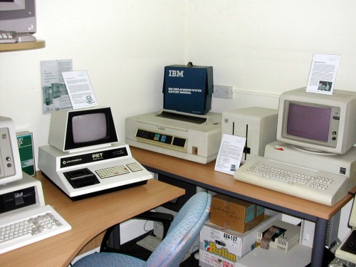 Photograph of More Commercial computers in the Centre
