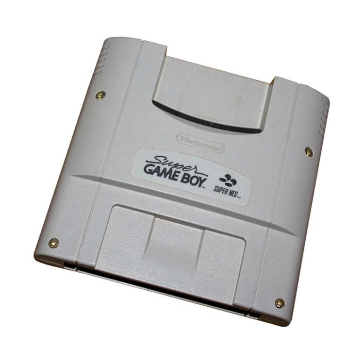Scan of Document: Nintendo Super Game Boy Super NES
