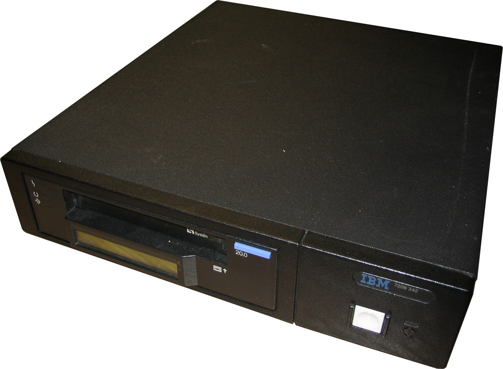 Scan of Document: IBM 7208 342 8MM Tape Drive