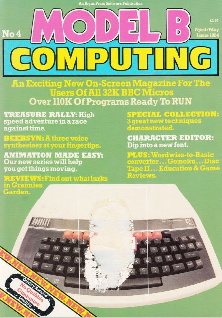 Scan of Document: Model B Computing - No. 4, April/May 1984