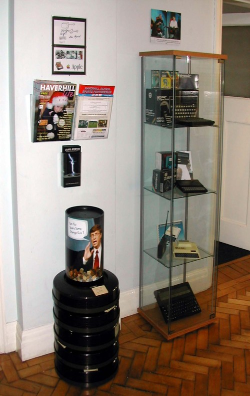 Photograph of Sinclair products in the Entrance Hall
