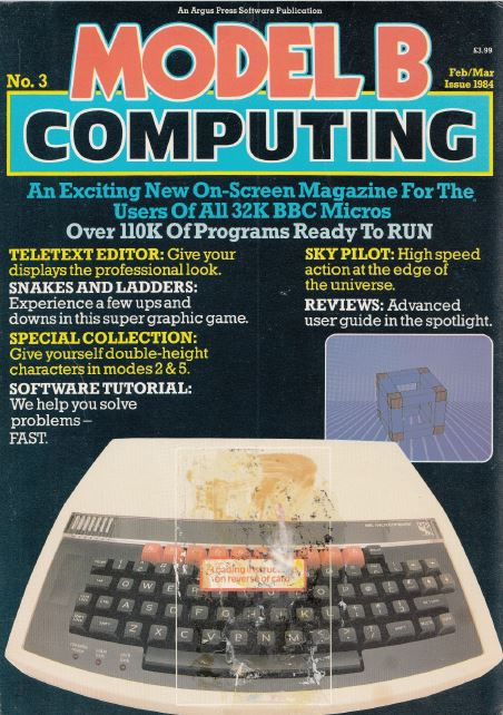 Scan of Document: Model B Computing - No. 3, February/March 1984