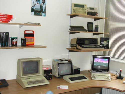 Photograph of More of the computer games area