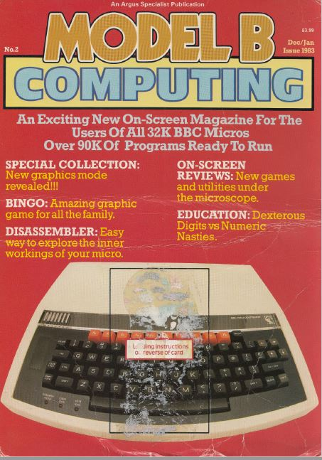 Scan of Document: Model B Computing - No. 2, December 1983 / January 1984