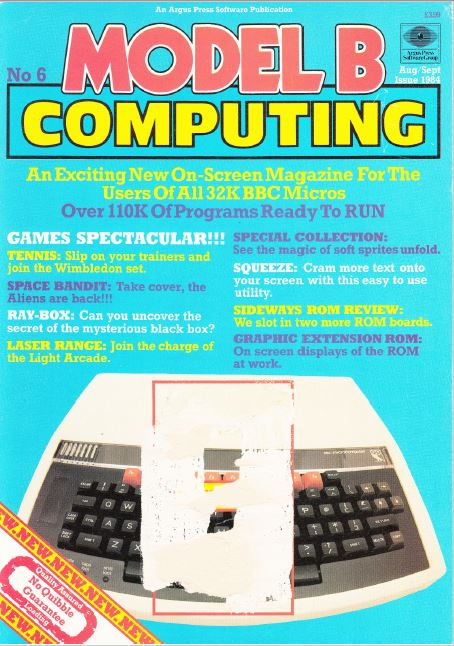 Scan of Document: Model B Computing - No. 6, August/September 1984