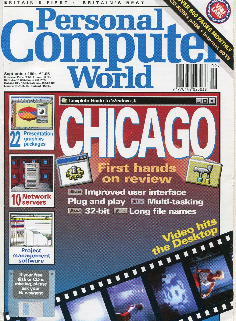 Scan of Document: Personal Computer World - September 1994