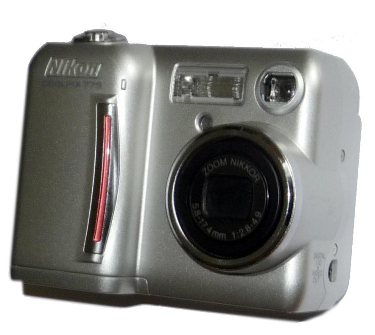 Scan of Document: Nikon Coolpix 775 Digital Camera