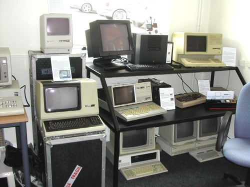 Photograph of Commercial computers in the Centre