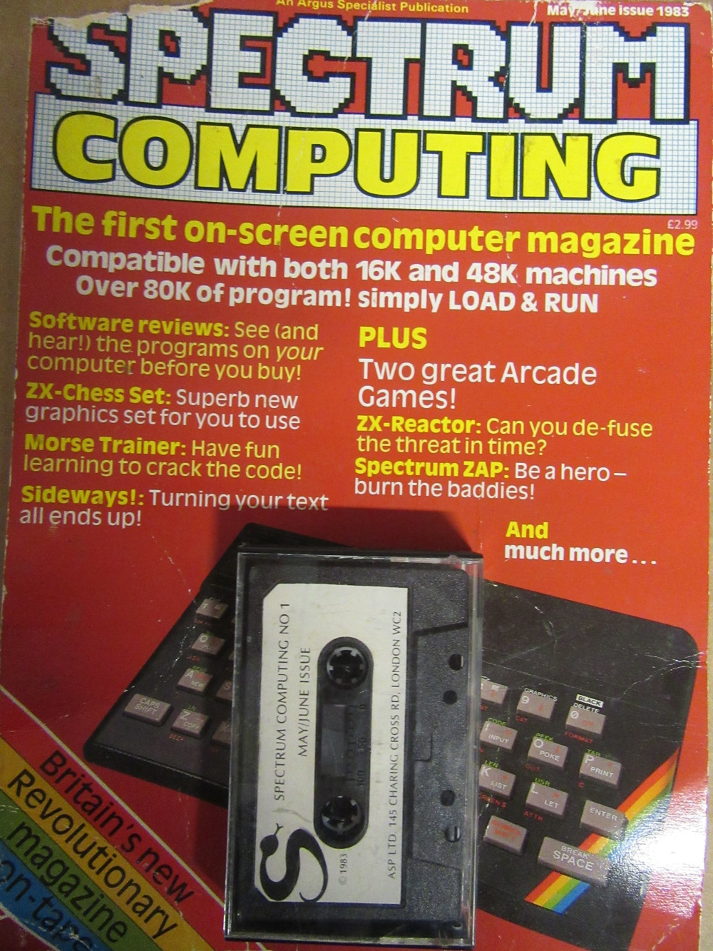Scan of Document: Spectrum Computing - No. 1, May/June 1983