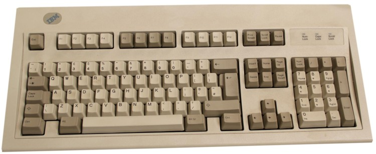 Scan of Document: IBM Enhanced 102-Keyboard - PS/AT Style