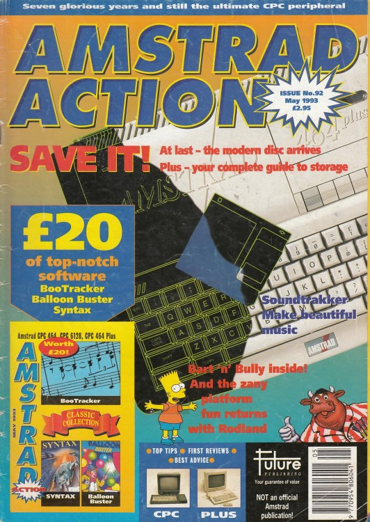 Scan of Document: Amstrad Action - May 1993