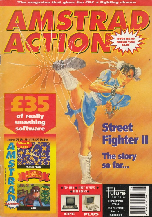 Scan of Document: Amstrad Action - August 1993
