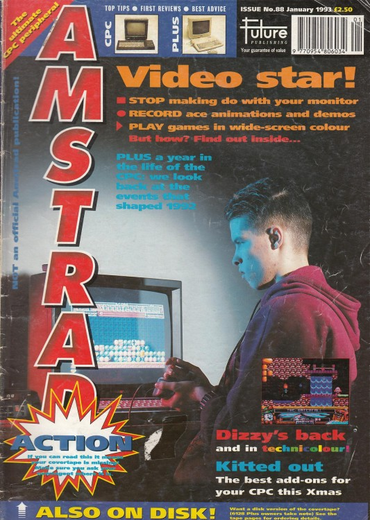 Scan of Document: Amstrad Action - January 1993