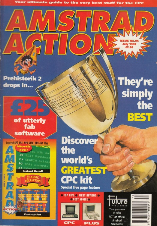 Scan of Document: Amstrad Action - July 1993