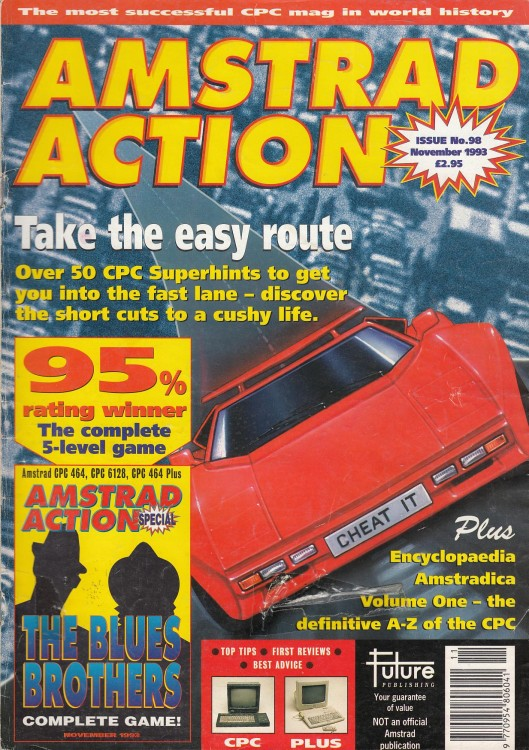 Scan of Document: Amstrad Action - November 1993