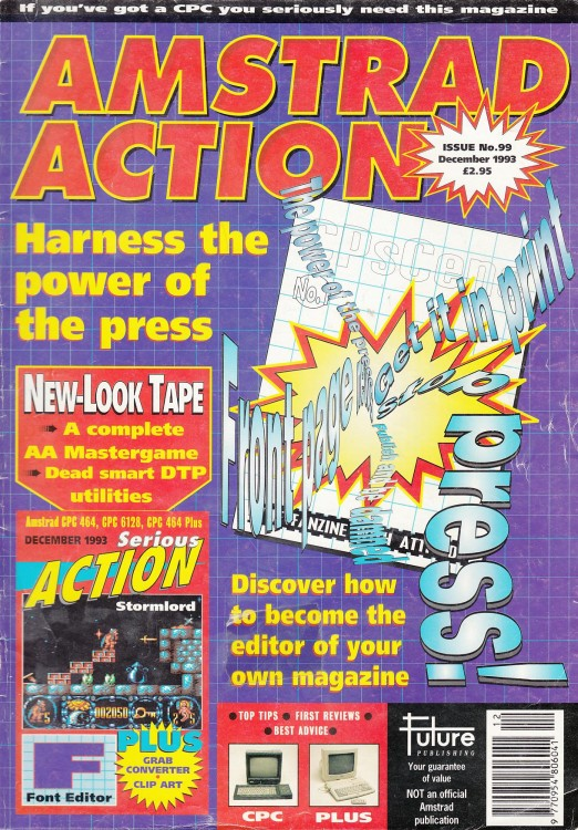 Scan of Document: Amstrad Action - December 1993