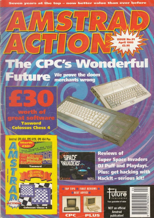 Scan of Document: Amstrad Action - April 1993
