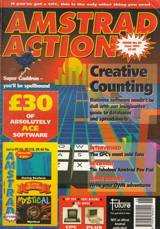 Scan of Document: Amstrad Action - June 1993